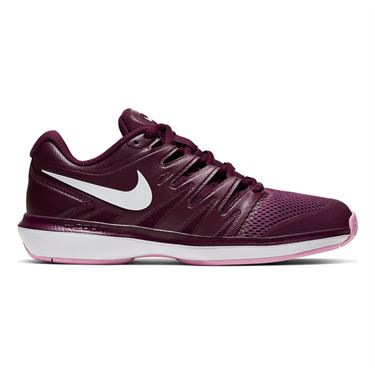 Nike Air Zoom Prestige Womens Tennis Shoe Bordeaux/White/Pink Rise AA8024 603