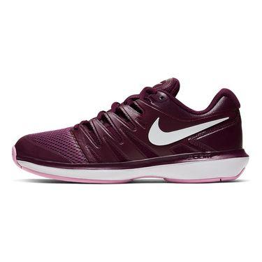 Nike Air Zoom Prestige Womens Tennis Shoe Bordeaux/White/Pink Rise AA8024 603