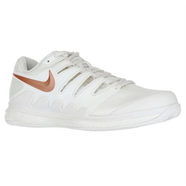 Nike Air Zoom Vapor X Clay Womens Tennis Shoe - Phantom/Metallic Rose Gold