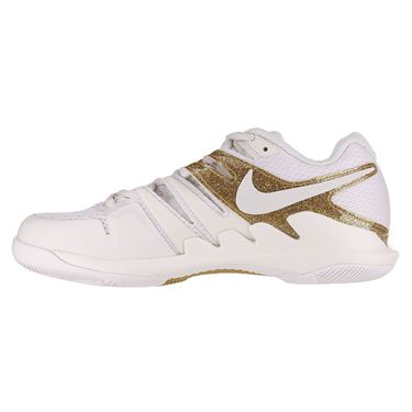 Nike Air Zoom Vapor X Womens Tennis Shoe Phantom/Metallic Gold AA8027 007