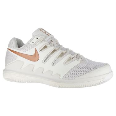 Nike Air Zoom Vapor X Womens Tennis Shoe - Phantom/Metallic Rose Gold