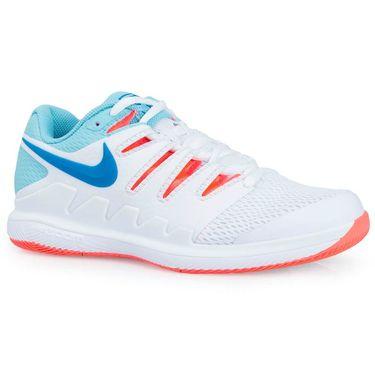 Nike Air Zoom Vapor X White Bleached Aqua Hot Lava Neo Turquoise AA8027104