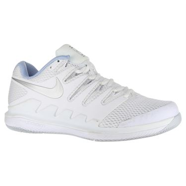 Nike Air Zoom Vapor X Womens Tennis Shoe - White/Metallic Silver/Pure Platinum