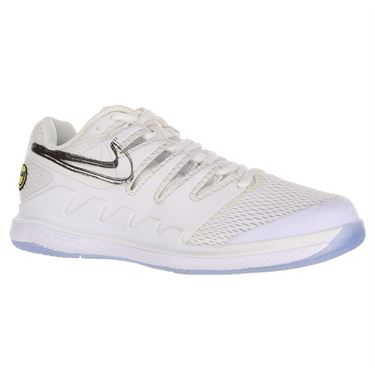 Nike Air Zoom Vapor X Womens Tennis Shoe - White/Metallic Summit/Black/Canary