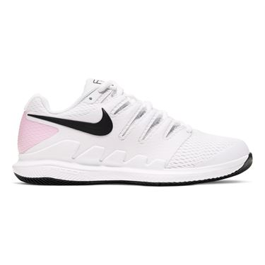 Nike Court Air Zoom Vapor X Womens Tennis Shoe White/Black/Pink Foam AA8027 107