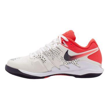 Nike Court Air Zoom Vapor X Womens Tennis Shoe Summit White/Laser Crimson/Gridiron AA8027 108