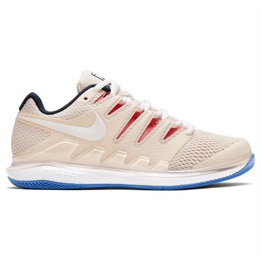 Nike Court Air Zoom Vapor X Womens Tennis Shoe Light Orewood Brown/White/Sunblush/Obsidian AA8027 110