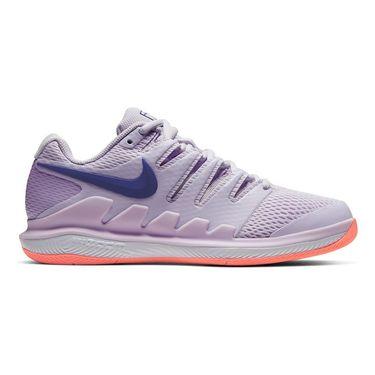 Nike Court Air Zoom Vapor X Womens Tennis Shoe Barely Grape/Regency Purple/Bright Mango AA8027 501