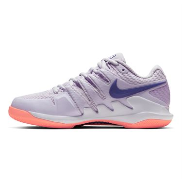 Nike Court Air Zoom Vapor X Womens Tennis Shoe Barely Grape/Regency Purple/Bright Mango AA8027 501