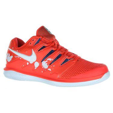e7d14794c4b9 Nike Air Zoom Vapor X Womens Tennis Shoe - Bright Crimson White Industrial  Blue ...