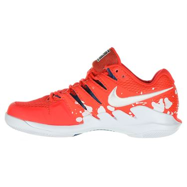 Nike Air Zoom Vapor X Womens Tennis Shoe - Bright Crimson/White/Industrial Blue