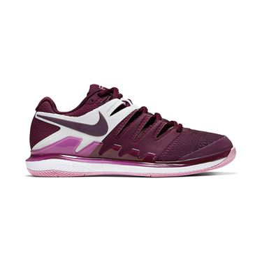 Nike Air Zoom Vapor X Womens Tennis Shoe Bordeaux/Pink Rise AA8027 603