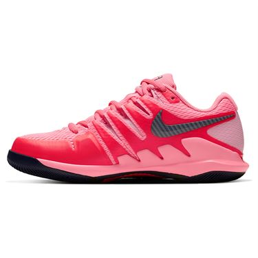 Nike Court Air Zoom Vapor X Womens Tennis Shoe Laser Crimson/Blackened Blue/Pink AA8027 604