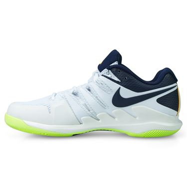 Nike Air Zoom Vapor X Mens Tennis Shoe - Phantom/Orange Peel/Blackened Blue/White