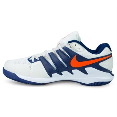 Nike Air Zoom Vapor X Mens Tennis Shoe - Phantom/Orange Blaze/Blue/White