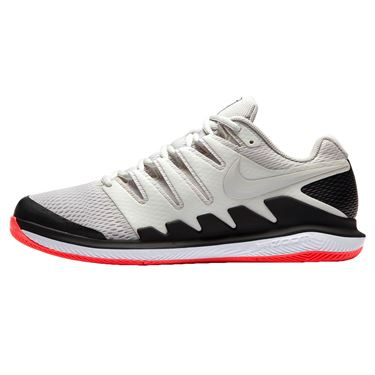 Nike Air Zoom Vapor X Mens Tennis Shoe - Light Bone/Black/Hot Lava