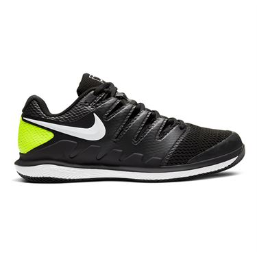 Nike Air Zoom Vapor X Mens Tennis Shoe Black/White/Volt AA8030 009
