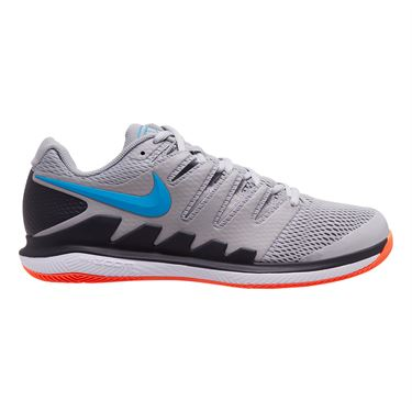 Nike Air Zoom Vapor X Mens Tennis Shoe Ghost Green Blackened Blue Barely Volt
