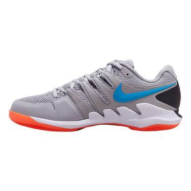 Nike Air Zoom Vapor X Mens Tennis Shoe Light Smoke Grey/Blue Hero/Off Noir/White AA8030 011