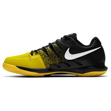 Nike Air Zoom Vapor X Mens Tennis Shoe Black/White/Speed Yellow AA8030 013