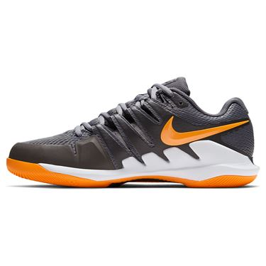 Nike Air Zoom Vapor X Mens Tennis Shoe Metallic Dark Grey/Total Orange/White/Black AA8030 014