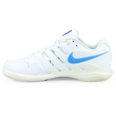 Nike Air Zoom Vapor X Mens Tennis Shoe - White/University Blue/Light Cream