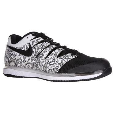 timeless design 222de 11e08 Nike Air Zoom Vapor X Mens Tennis Shoe - White Black ...