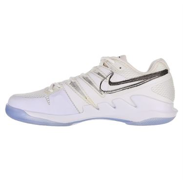 Nike Air Zoom Vapor X Mens Tennis Shoe - White/Metallic Summit/Black/Canary