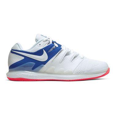 Nike Air Zoom Vapor X Mens Tennis Shoe White/Game Royal/Flash Crimson AA8030 105