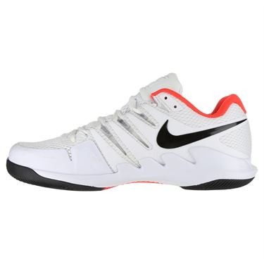Nike Air Zoom Vapor X Mens Tennis Shoe - White/Black/Bright Crimson