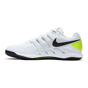 Nike Air Zoom Vapor X Mens Tennis Shoe White/Black/Volt AA8030 107