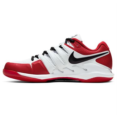 Nike Air Zoom Vapor X Mens Tennis Shoe White/Black/University Red AA8030 109