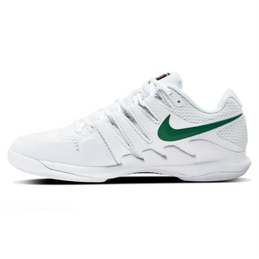 Nike Court Air Zoom Vapor X Mens Tennis Shoe White/Clover/Gorge Green AA8030 111