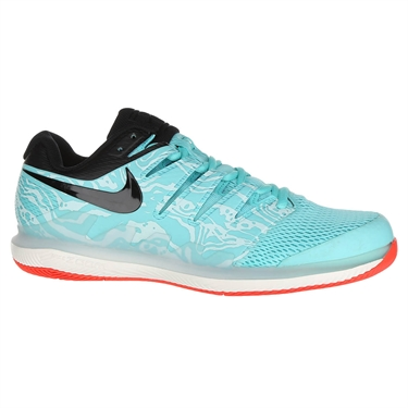 Nike Air Zoom Vapor X Mens Tennis Shoe - Aurora Green/Black/Teal Tint/Phantom
