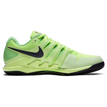 Nike Air Zoom Vapor X Mens Tennis Shoe Ghost Green/Blackened Blue/Barely Volt AA8030 302