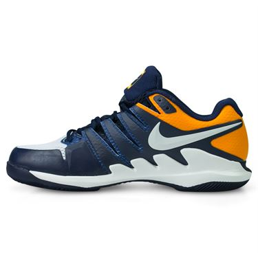 Nike Air Zoom Vapor X Mens Tennis Shoe - Blackened Blue/Phantom Orange Peel
