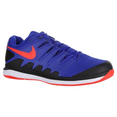 Nike Air Zoom Vapor X Mens Tennis Shoe - Racer Blue/Bright Crimson/Black/White