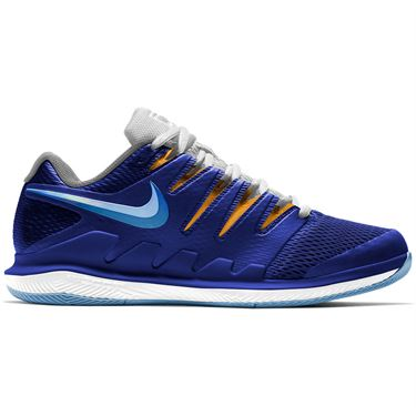 Nike Court Air Zoom Vapor X Mens Tennis Shoe Deep Royal Blue/Coast/White AA8030 403