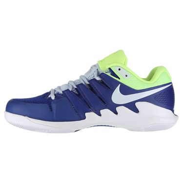 Nike Air Zoom Vapor X Mens Tennis Shoe - Indigo Force/Half Blue/Volt Glow/White