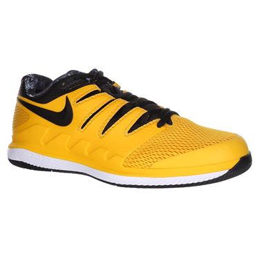 Nike Air Zoom Vapor X Mens Tennis Shoe - University Gold/Black/White/Volt Glow