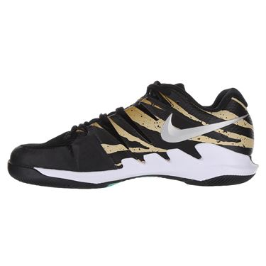 Nike Air Zoom Vapor X Mens Tennis Shoe - Wheat/Metallic Silver/ Hyper Jade