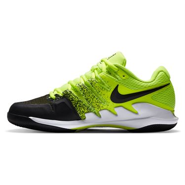 Nike Court Air Zoom Vapor X Mens Tennis Shoe Volt/Black/White AA8030 702