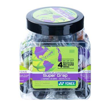 Yonex Super Grap Overgrip 60 Count Bucket - Multi