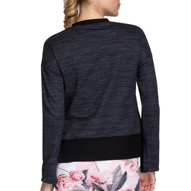 Tail Spring Garden Vanessa Long Sleeve Top Womens Onyx AC2695 9008