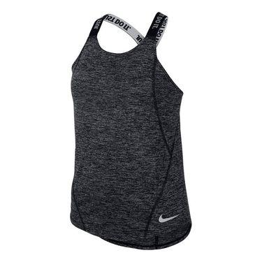 Nike Girls Dry Tank - Black/White