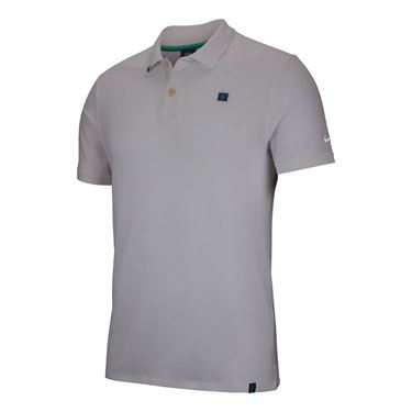 18277ee71608d Nike RF Essential Polo - Light Silver ...