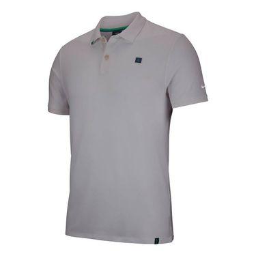 Nike RF Essential Polo - Light Silver
