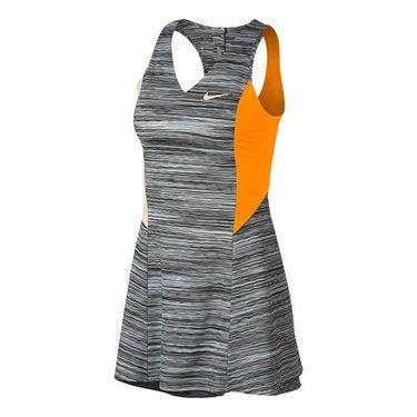 NikeCourt Dry Maria Dress - Wolf Grey/Orange Peel/Guava Ice