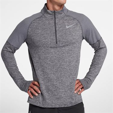 Nike Element 1/2 Zip Pullover - Dark Grey Heather