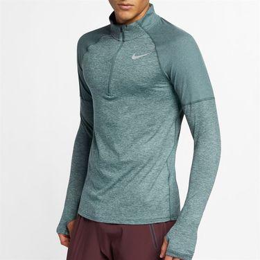 Nike Element 1/2 Zip Pullover - Hasta/Aviator Grey/Reflective Silver